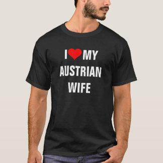 AUSTRIA: I Love My Austrian Wife t-shirt
