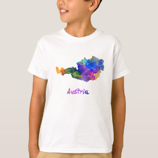 Austria in watercolor T-Shirt