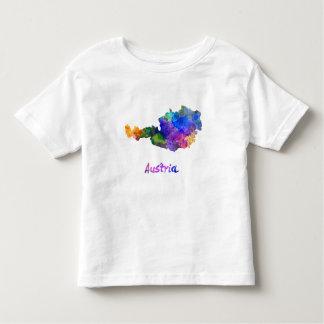 Austria in watercolor toddler T-Shirt