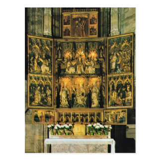 Austria, Inside St Stephen's, Vienna Postcard