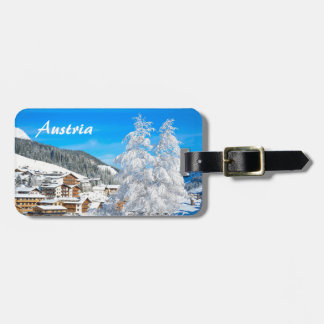 Austria - Luggage Tag