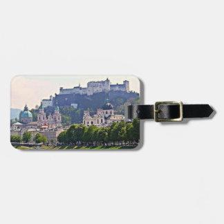 Austria Luggage Tag - Salzburg