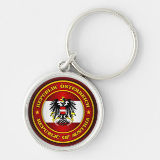 Austria Medallion Key Ring