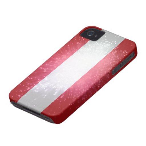 Austria; Österreich Flagge Case-Mate Blackberry Case