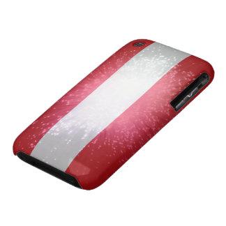 Austria; Österreich Flagge iPhone 3 Case-Mate Cases