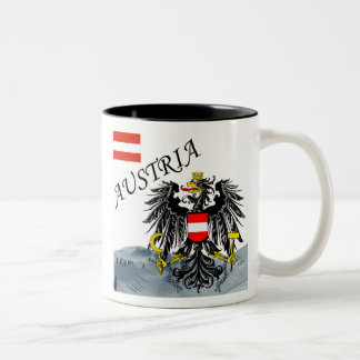 Austria - Osterreich Two-Tone Coffee Mug