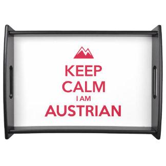 AUSTRIA SERVING TRAY