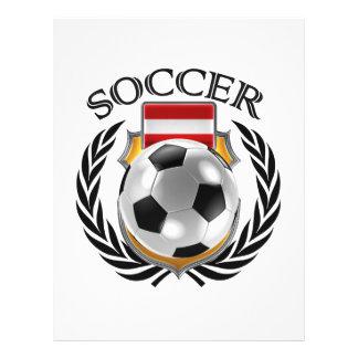 Austria Soccer 2016 Fan Gear 21.5 Cm X 28 Cm Flyer
