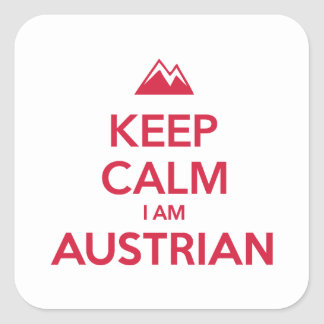 AUSTRIA SQUARE STICKER