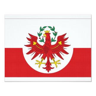 Austria Tyrol Flag Custom Announcements