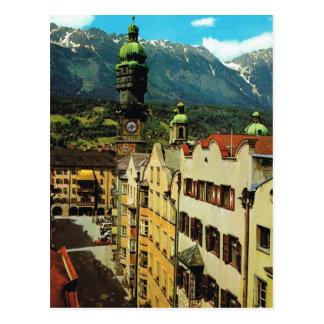 Austria, Tyrol, Innsbruck Altestadt Postcard