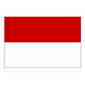 Austria Vienna Flag Postcard