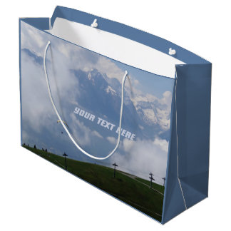 Austrian Alps custom gift bag
