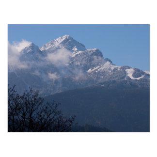 """Austrian Alps"" custom postcard"