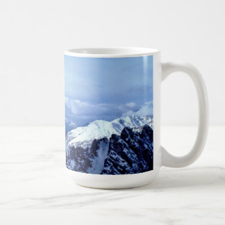 Austrian Alps in winter Coffee Mug