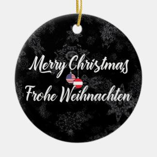 Austrian American Bilingual Holiday Decoration