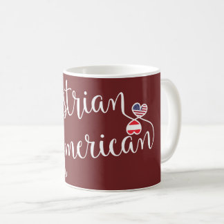 Austrian American Entwined Hearts Mug