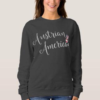 Austrian American Entwinted Hearts Sweatshirt