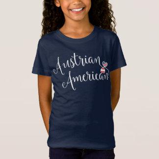 Austrian American Entwinted Hearts Tshirt