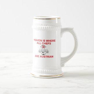Austrian Chefs Beer Stein