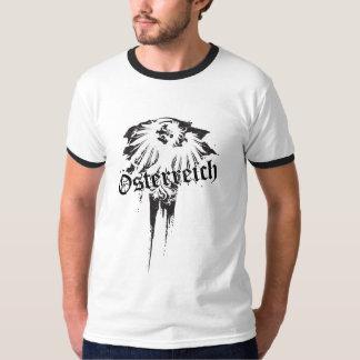 Austrian eagle on grunge background T-Shirt