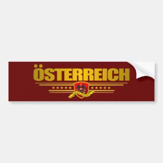 Austrian Flag 2 Bumper Sticker