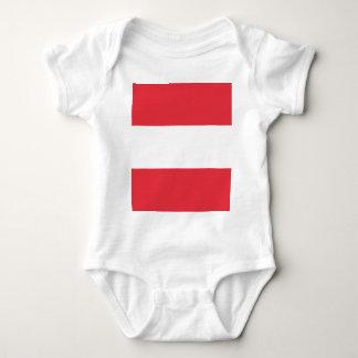 Austrian Flag Baby Bodysuit