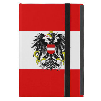 Austrian flag iPad mini case