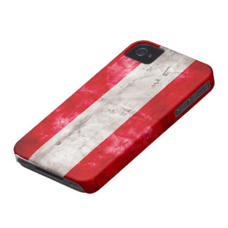 Austrian Flag iPhone 4 Covers