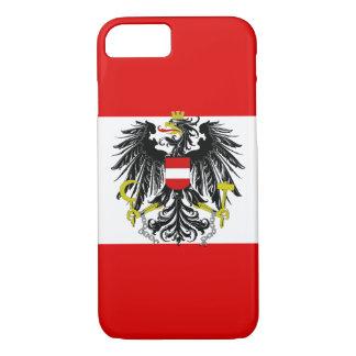 Austrian flag iPhone 8/7 case