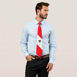 Austrian flag tie