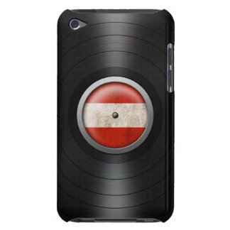 Austrian Flag Vinyl Record Album Graphic iPod Touch Case-Mate Case
