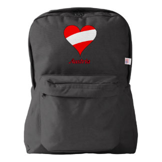 Austrian heart backpack