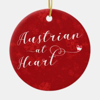 Austrian Heart, Christmas Tree Ornament