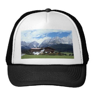 Austrian landscape hat