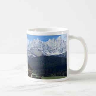 Austrian landscape coffee mugs