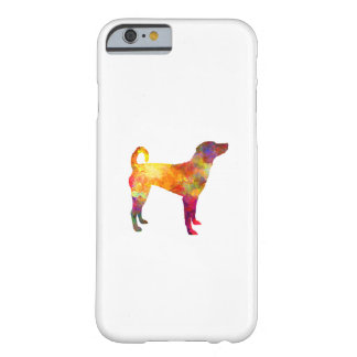 Austrian Pinscher in watercolor Barely There iPhone 6 Case