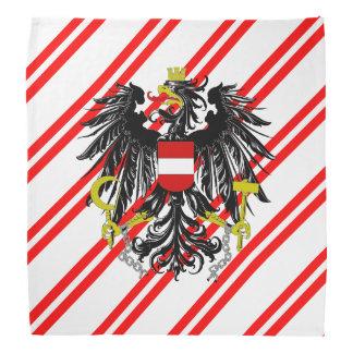 Austrian stripes flag bandana