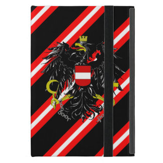 Austrian stripes flag iPad mini cover