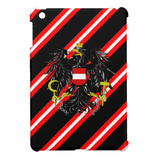 Austrian stripes flag iPad mini covers