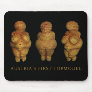 Austria's First Top Model Mouse Pad