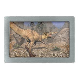 Austroraptor dinosaur belt buckle