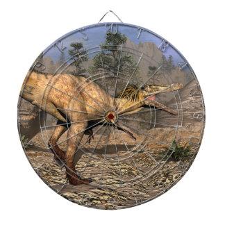 Austroraptor dinosaur dartboard