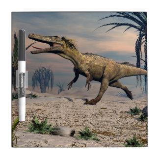 Austroraptor dinosaur dry erase board