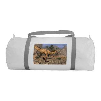 Austroraptor dinosaur gym bag