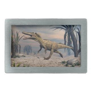 Austroraptor dinosaur rectangular belt buckles
