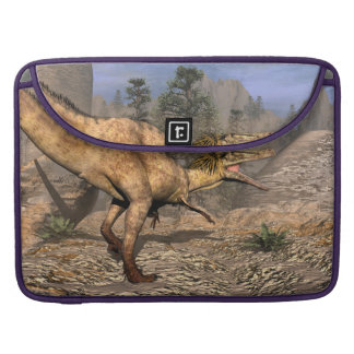 Austroraptor dinosaur sleeve for MacBook pro