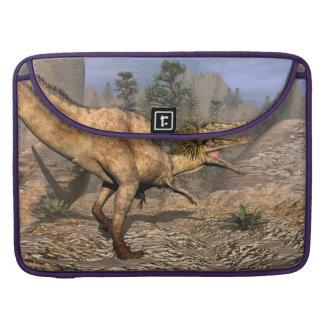 Austroraptor dinosaur sleeve for MacBooks