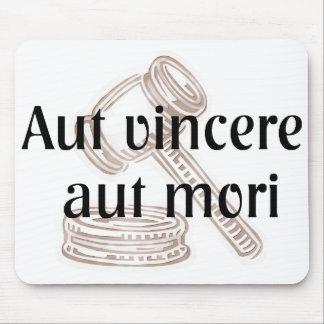 Aut Vincere Aut Mori Lawyer Mousepad