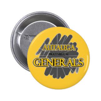 Autauga Academy Generals - Prattville AL Pinback Button